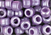 LAVENDER PEARL CROW BEADS PONY BEADS
