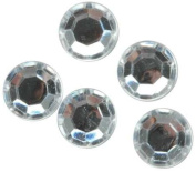 Blue Moon Beads Acrylic Jewels Round, 4-1/2-Millimetre, Package of 115, Crystal