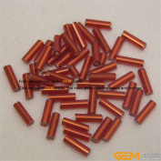 1500Pcs 2mmx7mm Czech Glass Bugle Seed Loose Spacer Beads Jewellery Making Diy Pick More Colour