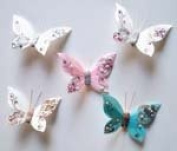 Jewelled Charm Butterfly Deco