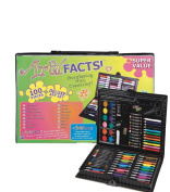 ArtyFacts 100 pc. Deluxe Art Set