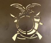 Italian WWII Helmet & Military Stencils