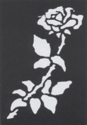 Stencil Rose Brass Stencil Rose Brass