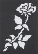 Stencil Rose Brass Stencil Rose Brass