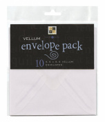 Die Cuts With A View Vellum Envelope
