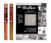 Amaco WireForm Metal Mesh aluminium woven sparkle mesh - 0.3cm . pattern mini-pack