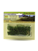 Wee Scapes Architectural Model Trees Wire Foliage Trees (medium green) 3.8cm . - 7.6cm . pack of 24 [PACK OF 3 ]