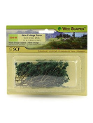 Wee Scapes Architectural Model Trees Wire Foliage Trees (dark green) 3.8cm . - 7.6cm . pack of 24 [PACK OF 3 ]