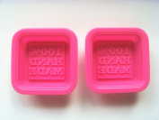 100% Hand made small Square Craft Art Silicone Soap mould Craft Moulds DIY Handmade soap moulds