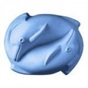2 Dolphins Soap Mould