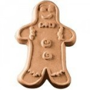Gingerbread Man Soap Mould
