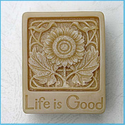 Life is Good 50179 Craft Art Silicone Soap mould Craft Moulds DIY Handmade soap moulds