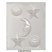 Mould - Celestial for Candy or Soap