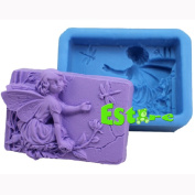 Silicone Soap Mould DIY 3D Angel Mould T0556