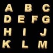 Alphabet A-M Sheet Mould