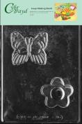 Cybrtrayd Butterfly/Flower Soap Mould