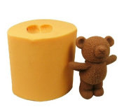 Bear Soap Mould Silicone Soap Mould Candle Mould DIY Soap Making Mould