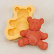 Fluffy Teddy Bear Soap Mould