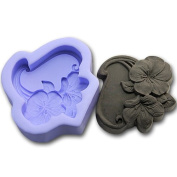 Silicone Folowers 0983 Craft Art Silicone Soap mould Craft Moulds DIY Handmade soap moulds
