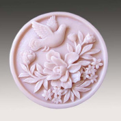 Piano Songbirds 50115 Craft Art Silicone Soap mould Craft Moulds DIY Handmade soap moulds