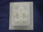 Fleur De Lis Rectangular Soap Mould 4676