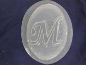 M Monogram Alphabet Letter Soap Mould Qty -2 4695