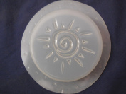 Recessed Sun Round Bar Soap Mould Qty-2 4596