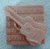 Creativemoldstore Z368 Violin Craft Art Silicone Soap Mould Craft Moulds DIY Handmade Soap Moulds
