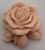 Creativemoldstore Z914 Single Rose Craft Art Silicone Soap Mould Craft Moulds DIY Handmade Soap Moulds
