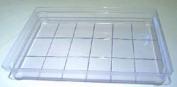 18-Bar Rect Grid Slab Tray