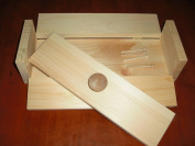 1 Wooden Soap Mould to Make 2-3 Lb Loaf Colapsable