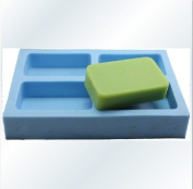 4 Cavity Rectangle 0934 Craft Art Silicone Soap mould Craft Moulds DIY Handmade soap moulds