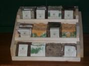Three Tier Wooden Handmade Soap Display Holds 36 Plus Bars