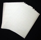 Two-Sided 0.6cm Graph Paper - 50 Sheets