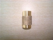1.9cm Fast Coarse Grit Stained Glass Grinder Head Bit Top Quality Solid Brass Core