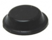 Self-Adhesive Rubber Feet Black Bumpers 1.3cm x 0.4cm