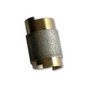 1.9cm Slip On Grinder Bit, Diamond Coated Copper Bit