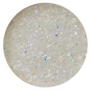 30ml Rainbow Dichroic Medium Frit Flakes On Clear - 96 Coe