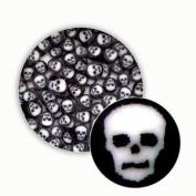 Black & White Skull Millefiori - 96 Coe