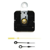 Spade Black Clock Movement Kit