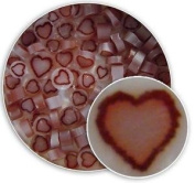 Red Heart Millefiori - 96 Coe