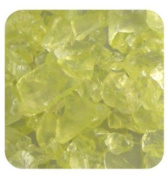 Sandtastik Ice10Lblylw Sandtastik Ice Real Glass Gems, Table Scatters & Vase Filler Light Yellow - 10 Lb