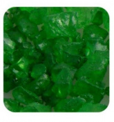 Sandtastik Ice10Lbgrn Sandtastik Ice Real Glass Gems, Table Scatters & Vase Filler Green - 10 Lb