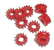 Ii.2 Red Gear Grommets