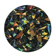 60ml Rainbow Dichroic Coarse Frit On Black - 90 Coe