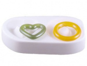 Heart And Circle Focal Link Mould