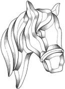 Horse Bevel Cluster
