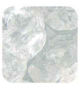 Sandtastik Ice20Lbclrcub Sandtastik Ice Real Glass Gems, Table Scatters & Vase Filler Clear Cubes - 20 Lb