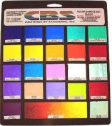Cbs Dichroic Colour Assortment On Black - 96 Coe