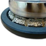 0.5cm BEVEL Diamond Vaccum Brazed Router Bit Coarse Grit